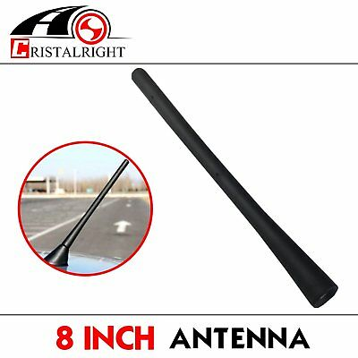 "For Acura Models Auto Car Black 8"" Antenna Screw-in AM/FM Radio Singal Receiver"