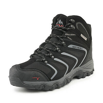 Men's Ankle Waterproof Hiking Boots Outdoor Lightweight Trekking Trails  Shoes