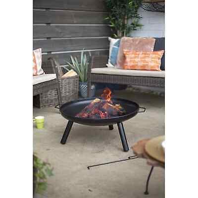 La Hacienda Pennsylvania Midi Firepit Log Burner Heater Fire Pit - Free Postage
