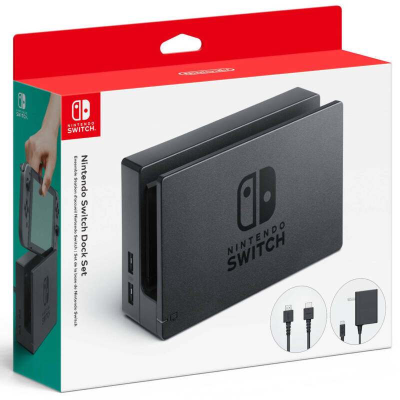 Nintendo HAC-007 Switch Dock Set, Black