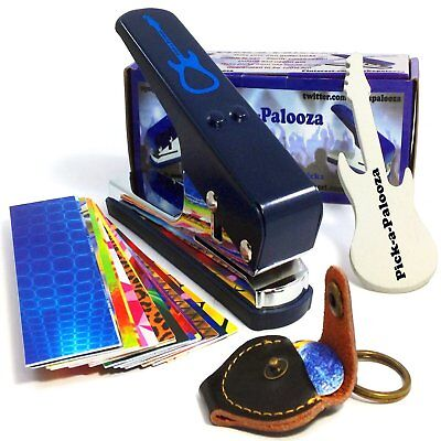 Pick-a-Palooza DIY Guitar Pick Punch Mega Gift Pack - the Premium Pick Maker -