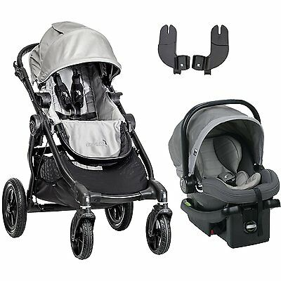 Baby Jogger City Select Black Frame Single Child Stroller Si
