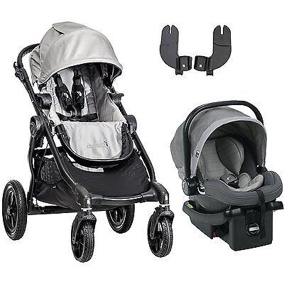 Baby Jogger City Select Black Frame Single Child Stroller Si