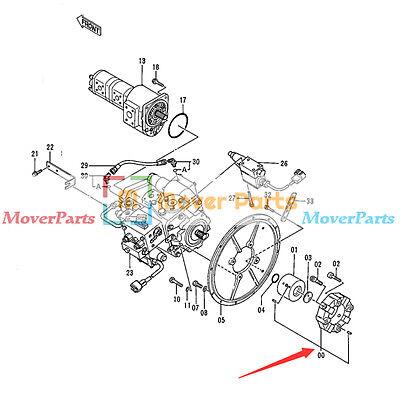 Pump Coupling Assy For John Deere Excavator 290d 490 495d 590d 595d