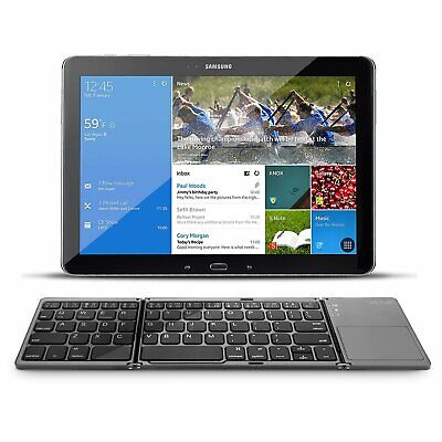 Wireless Folding Bluetooth Keyboard /Rechargeable W/Touchpad For iPad.iPhone