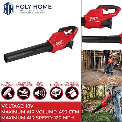 Milwaukee Leaf Blower M18 FUEL 18V 450-CFM Cordless Handheld 2724-20 (Tool Only)