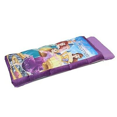 Disney Princess Inflatabed EZ Bed Inflatable Mattress with Sleeping Bag NEW!