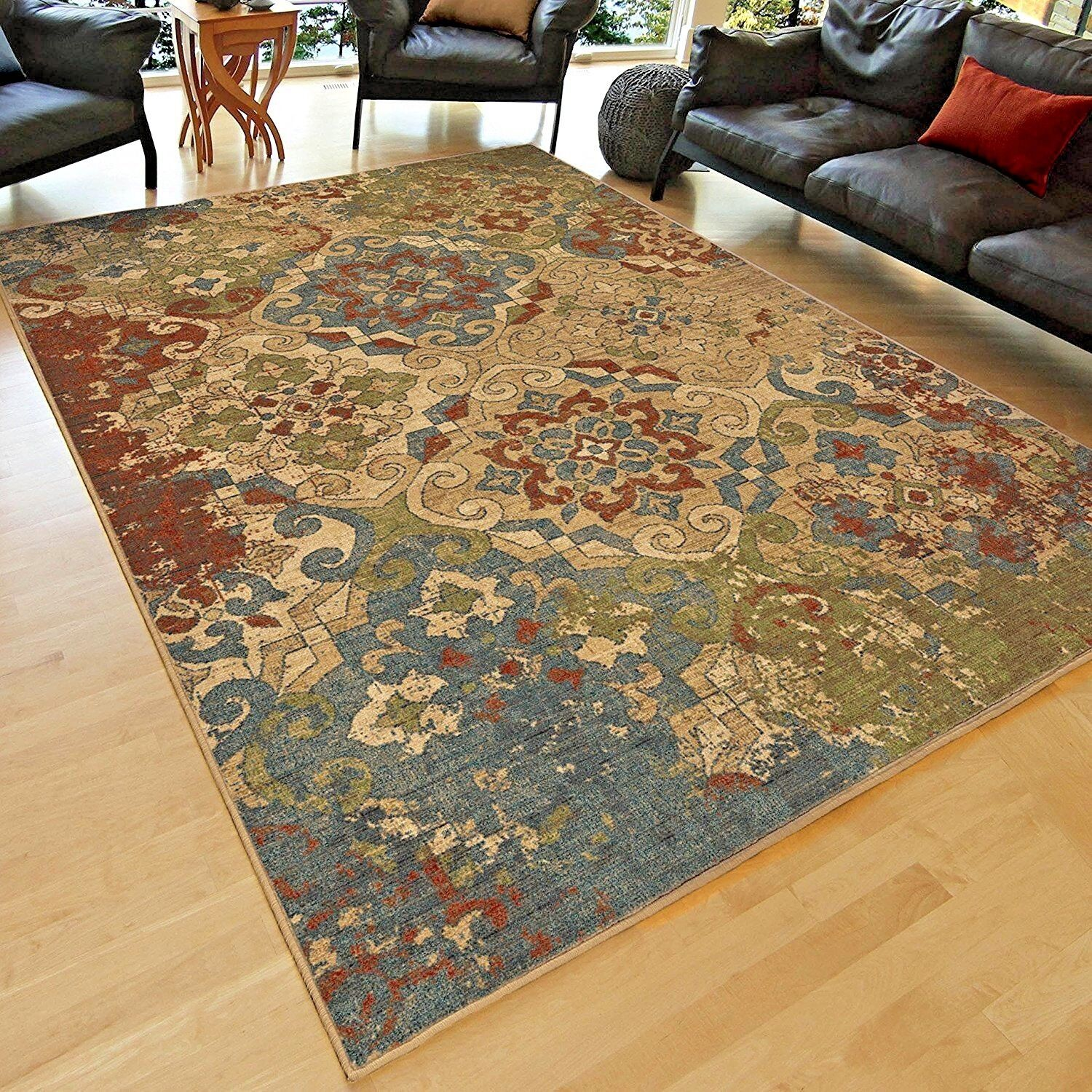 Rugs Area Rugs Carpet 8x10 Area Rug Floor Modern Large Living Room