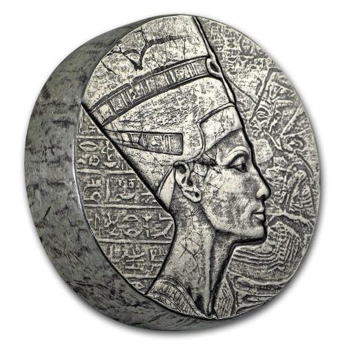 2017 Republic of Chad 5 oz Silver Queen Nefertiti - SKU#155130