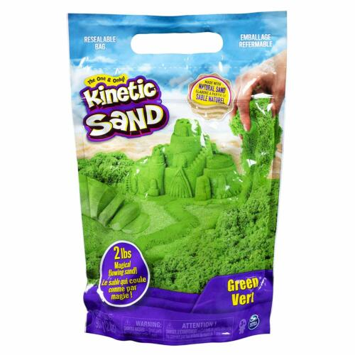 🚛Fast Shipping! {NEW} Green Vert Kinetic Sand 2lb Magic Flowing Sand Easter