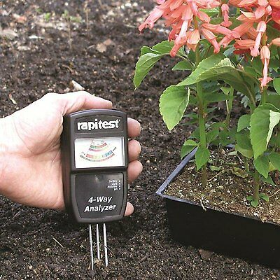 LUSTER LEAF 1880 RAPITEST 4-Way Analyzer Soil ...