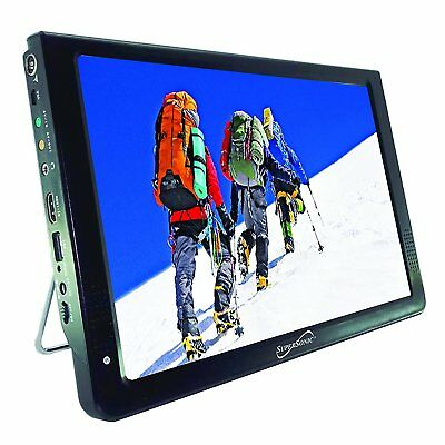 "Supersonic SC-2812 12"" Portable Lightweight Widescreen  LED TV HDMI, SD USB NEW"
