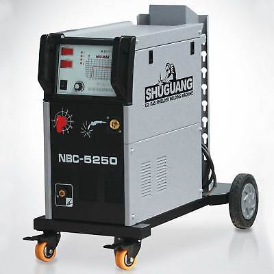 Nbc-5250t Mig Welding Co2 Gas Shielded Machine 220v