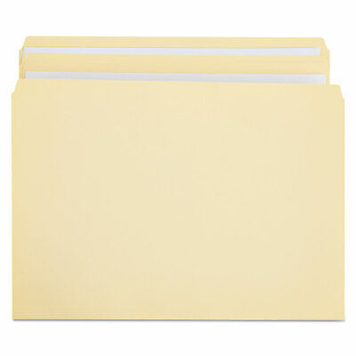Universal File Folders Straight Cut Two-ply Top Tab Letter Manila 100box 16110