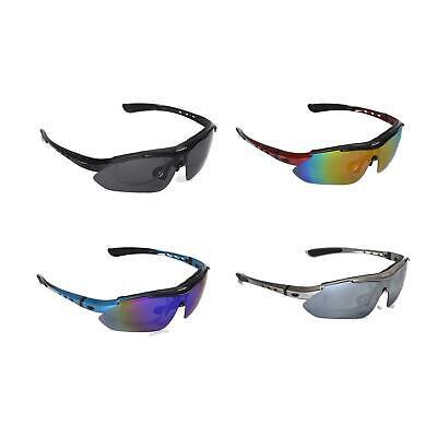 Walleva Polarized TR90 Sunglasses With Hat Clip+Prescription Lenses (Polarized Sunglasses With Prescription)
