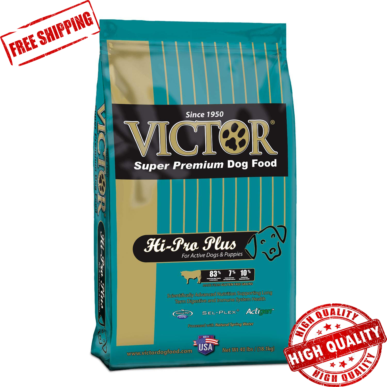 Victor Hi-Pro Plus Dry Dog Food, 40 Lb. Bag