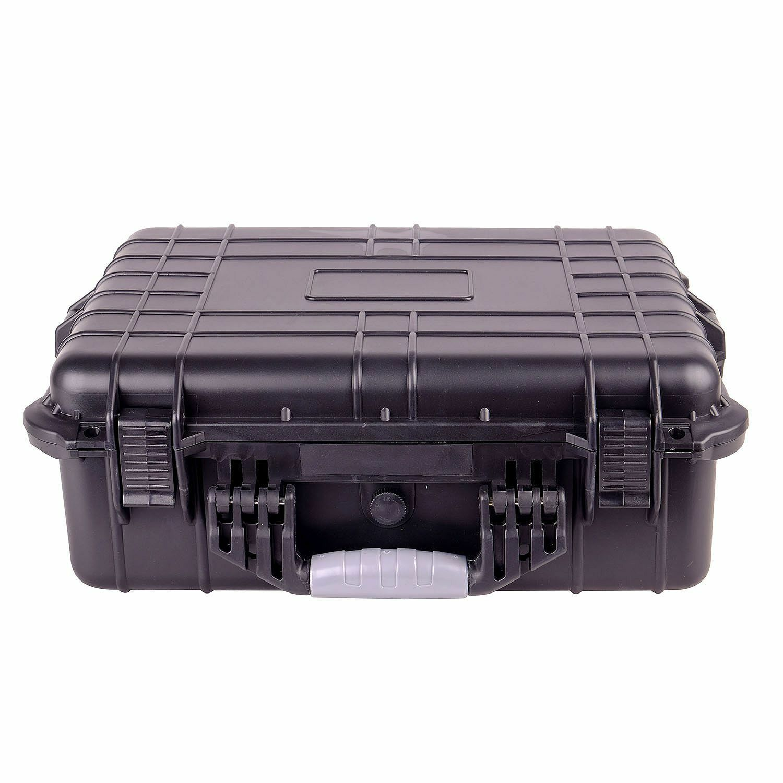 "20"" Weatherproof Hard Case For DSLR Camera & Lenses w/ Pelic"