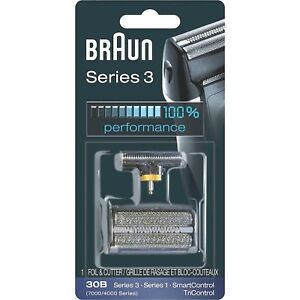 NEW Genuine BRAUN 30B 7000 / 4000 Series 1 3 Replacement Foil + Cutter UK STOCK!