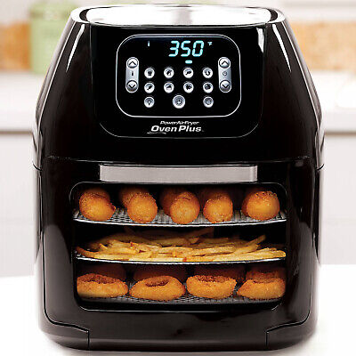 NEW Power Air Fryer Oven All-in-One 6 Quart Plus Dehydrator Best Pro
