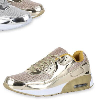 Herren Runners Metallic Lack Sportschuhe Laufschuhe Sneakers 816855 Top