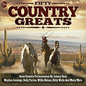 Fifty Country Greats - 2CD SET - BRAND NEW SEALED