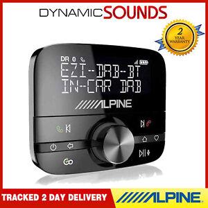 Alpine EZi DAB BT In-Car Universal DAB Bluetooth HandsFree Phone Adapter Kit