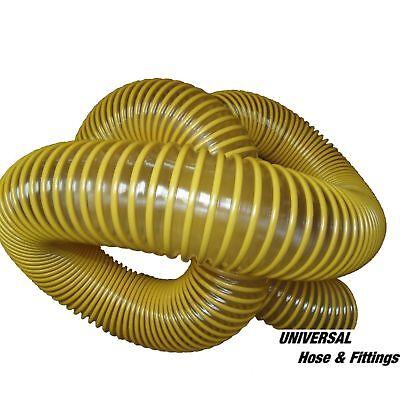 Leaf Vacuum Hose 6x7 Urethane Lawn Vac Grass Yellow