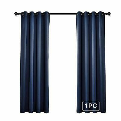 52 X 84 Light Blocking Thermal Insulated Grommet Blackout Curtains, 1 Panel Navy