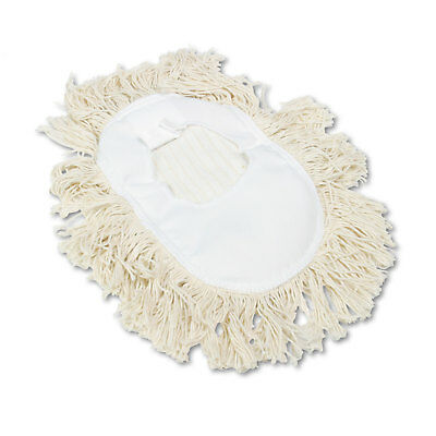 Boardwalk Wedge Dust Mop Head Cotton 17 12l X 13 12w White 1491