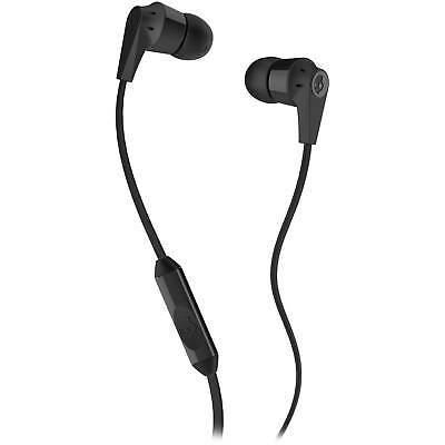 Skullcandy Inkd 2 0 Earbuds In Black With Inline Mic