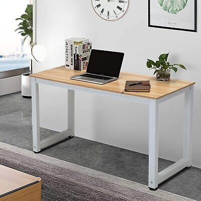 Large Office Computer Desk Study PC Writing Gaming Dining Table Home Workstation