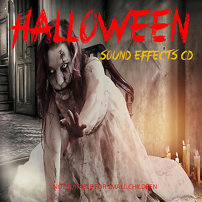 CTS CD - HAUNTED HOUSE - SCARY HALLOWEEN CD BACKGROUND CD  (Halloween Sound Effects Cd)