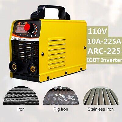 110v 225amp Igbt Mini Electric Welding Machine Dc Inverter Arc Mma Stick Welder
