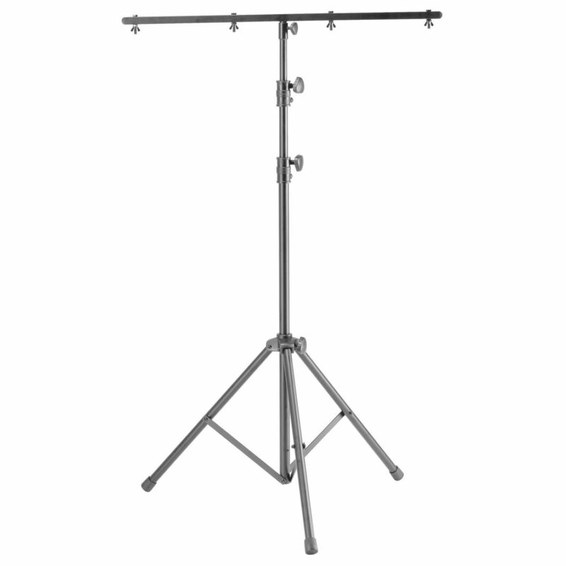 Odyssey LTP6 9′ Tall Black Lighting Tripod Stand with Top T-Bar