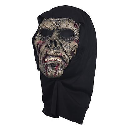 The Mask Biz Death Angel Head Mask Halloween - Latex - Azrael ()