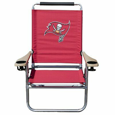 Officially Licensed Tampa Bay Buccaneers NFL Logo Beach Chair