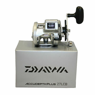 - New Daiwa ADP27LCB Accudepth Plus-b Line Counter Reel 1bb 14/300 4.2:1 JAPAN