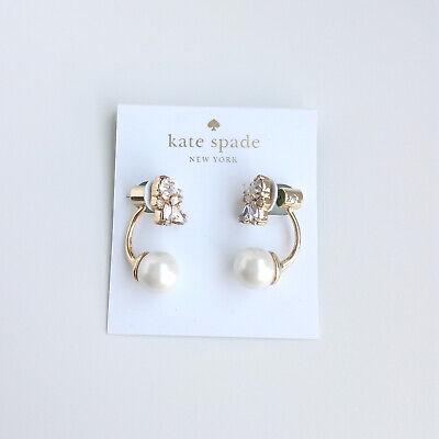 Kate spade New York Dainty Sparklers Cluster Ear Jacket Earrings