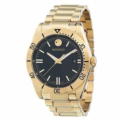 Movado 0607436 Men's Movado Sport  Gold-Tone Quartz Watch