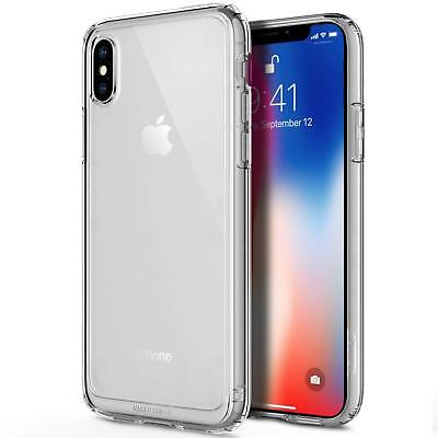 OBLIQ [Naked Shield]Crystal Clear Case w/TPU Shock Resistant Bumper for iPhone