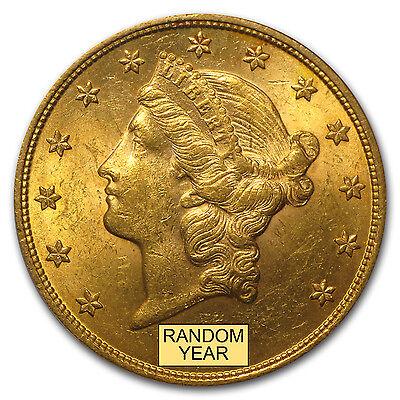 $20 Liberty Gold Double Eagle BU (Random Year) - SKU #97784