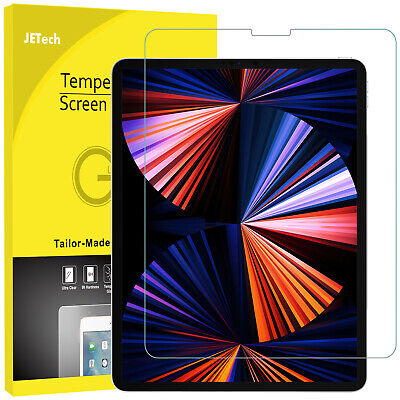 """JETech Screen Protector for iPad Pro 12.9"""" 2021/2020/2018 Tempered Glass Film"""
