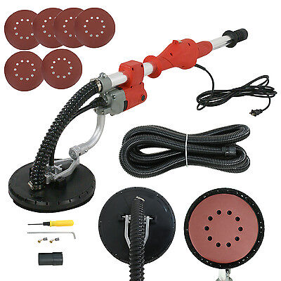Electric Drywall Sander 600w Adjustable Variable Speed With Telescopic Handle