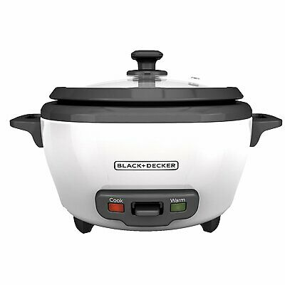 Unspeakable+Decker RC506 6-Cup Cooked/3-Cup Uncooked Rice Cooker and Food Steamer Pot