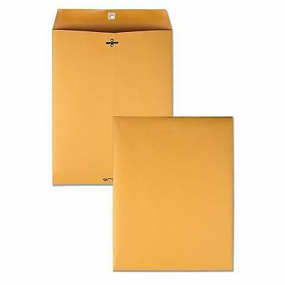 "100 Business Envelopes 10""x13"" Kraft Clasp Manila Catalog Yellow Brown Flap for sale  USA"