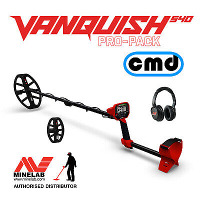 Minelab Vanquish 540 Pro-Pack Multi Frequency Metal Detector