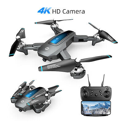 Holy Stone HS240 FPV Drone With 4K HD Camera Live Video RC Quadcopter Tap Flying