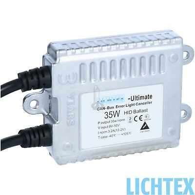 LICHTEX Ultimate CAN-Bus HID Xenon Scheinwerfer Steuergerät 12V 35W AC 9-16V AC Premium Digital Headset