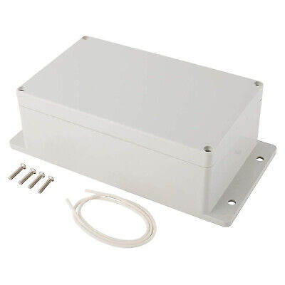 Abs Plastic Junction Box Electric Project Enclosure Case Waterproof W Fixed Ear