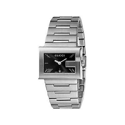 GUCCI YA100505 Women's G-Dial Black Quartz Watch
